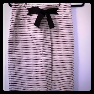 The Limited pencil skirt with bow.